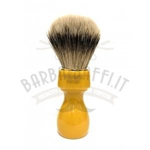 Pennello Barba Manico Butterscotch Oro Ciuffo Silvertip Zenith 507B