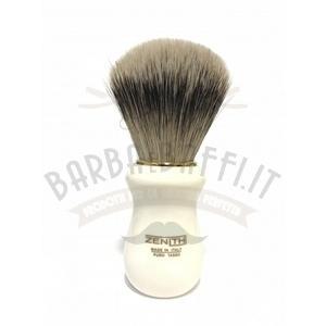 Pennello Barba Manico Avorio Oro Ciuffo Silvertip Zenith 502A
