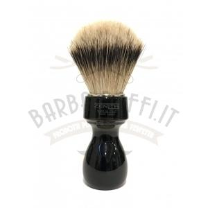 Pennello Barba Manico Nero Nic Ciuffo Silvertip Zenith 507N