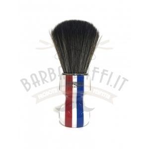 Pennello Barba Manico Barber Pole Ciuffo Synt Dark Zenith 506BP