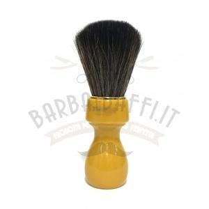 Pennello Barba Manico Butterscotch Ciuffo Synt Dark Zenith 507B