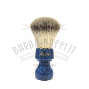 Pennello Barba Profess. Syntetic Manico Blu Cobalto Zenith 506BC