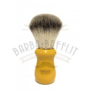 Pennello Barba Manico Butterscotch Ciuffo Syntetic Zenith 502BK