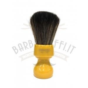Pennello Barba Manico Butterscotch Ciuffo Synt Dark Zenith 506B