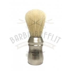 Pennello Barba Manico Satinato Ciuffo Setola Zenith 91S