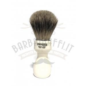 Pennello Barba Manico Avorio Nic Ciuffo Best Badger Zenith 507A N