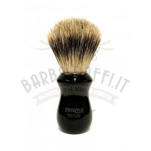 Pennello Barba Profess. Best Badger Manico Nero Nic Zenith 502N BR