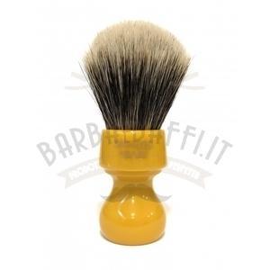 Pennello Barba Manico Butterscotch Ciuffo Manchurian Zenith 506B