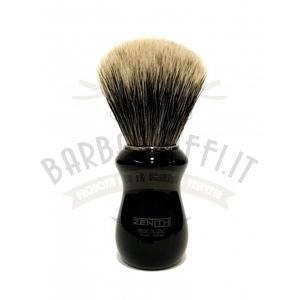 Pennello Barba Manico Nero Nic Ciuffo Manchurian Zenith 502N BR