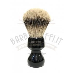 Pennello Barba Manico Nero Ciuffo Silvertip Zenith 506N BR