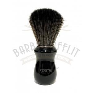 Pennello Barba Manico Nero Nic Ciuffo Synt Dark Zenith 502N BR