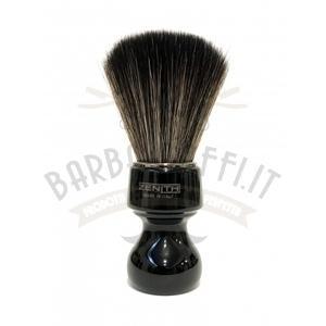 Pennello Barba Manico Nero Ciuffo Synt Dark Zenith 506N BR