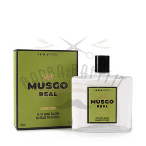 After Shave Balsam Classic Scent Musgo Real 100 ml.