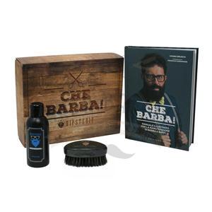 Cofanetto Che Barba! Detergente + Spazzola + Manuale Cura Barba Hipsteri