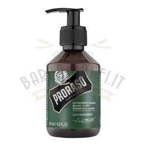 Shampoo da Barba Rinfrescante Proraso flacone 200 ml.