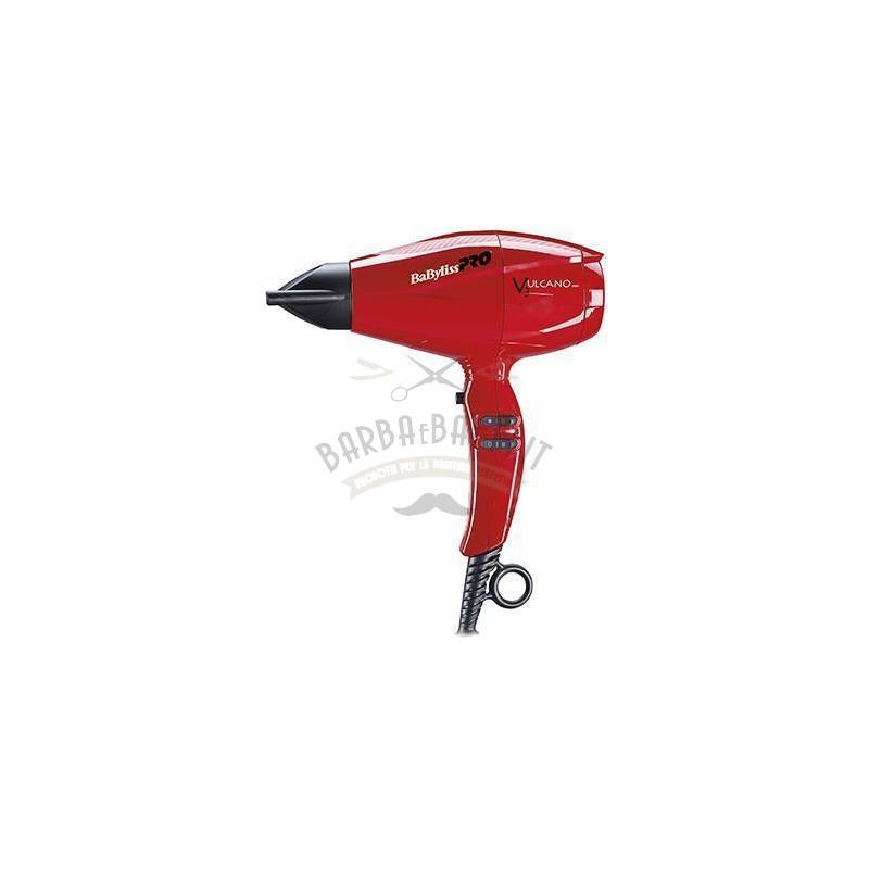 Phon Vulcano V3 Babyliss 2200 W Rosso