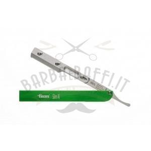 Rasoio Focus Slim AL R28 Manico Alluminio Verde mezza lama