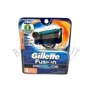 Lamette Ricambio Gillette Fusion Proglide USA 4 Pz