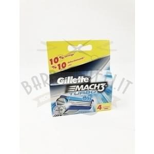 Ricambio Lamette Gillette Mach 3 Turbo 4 lame