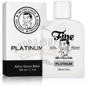 After Shave Balm Platinum Fine 100 ml.