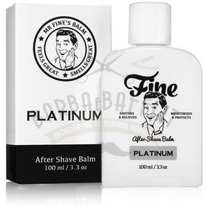 After Shave Balm Platinum Fine 100 ml.
