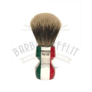 Pennello Barba Manico Resina Italia Ciuffo Manchurian Zenith 506IF