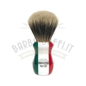 Pennello Barba Manico Resina Italia Ciuffo Manchurian Zenith 502IF