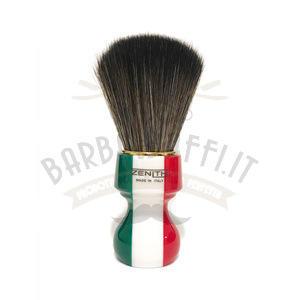 Pennello Barba Manico Resina Italia Ciuffo Synt Dark Zenith 506IF