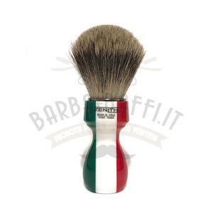 Pennello Barba Manico Resina Italia Ciuffo Best Bedger Zenith 507IF