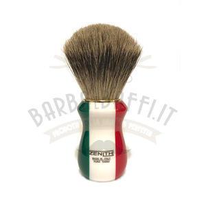 Pennello Barba Manico Resina Italia Ciuffo Best Bedger Zenith 502IF