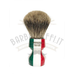 Pennello Barba Manico Resina Italia Ciuffo Best Badger Zenith 506IF