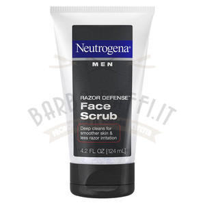 Scrub Viso Razor Defense Neutrogena 124 ml