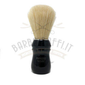 Pennello da Barba Setola Sbiancata Manico Nero 80N SE