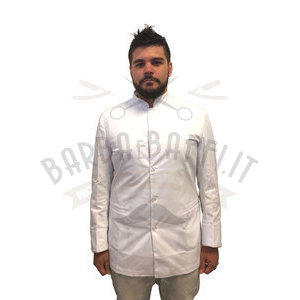 Giacca Barber NoLog Bianca rif. oro Taglia X-Large