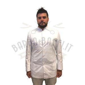 Giacca Barber NoLog Bianca rif. oro Taglia XX-Large