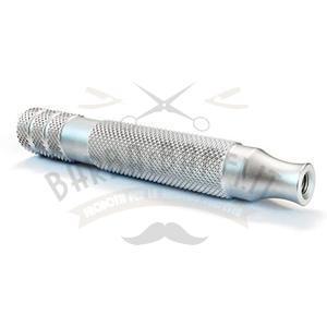 Manico per rasoio Ikon Alluminio Bulldog 90 mm