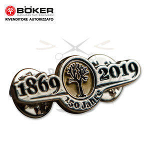 Pin Anniversary 150 Years Boker