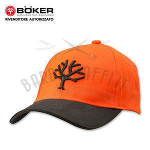 Cappellino con Visiera Cap orange Boker 09BO103
