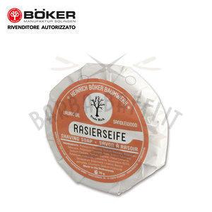 Sapone da Barba al Sandalo Rasierseife Ricarica Boker 70 gr.