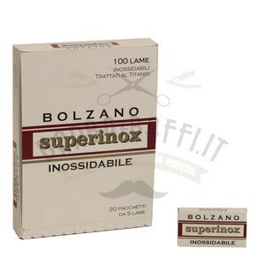 Lamette Bolzano Superinox stecca 100 lame
