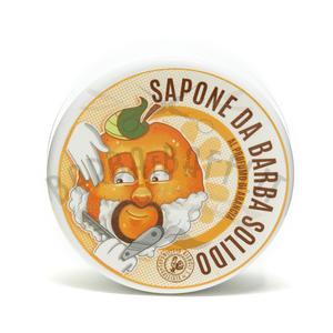 Sapone da Barba Solido Arancio Saponificio Bignoli 100 g