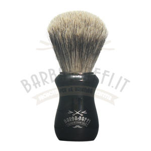 Pennello Barba Ciuffo Best Badger BarbaeBaffi Manico Nero 33357