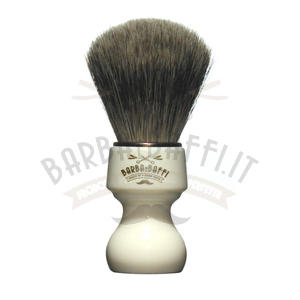 Pennello Barba Ciuffo Best Badger BarbaeBaffi Manico Avorio 33354