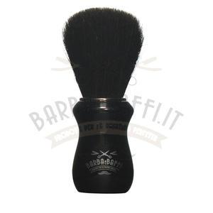 Pennello Barba Ciuffo Cavallo Soft BarbaeBaffi Manico Nero 33353