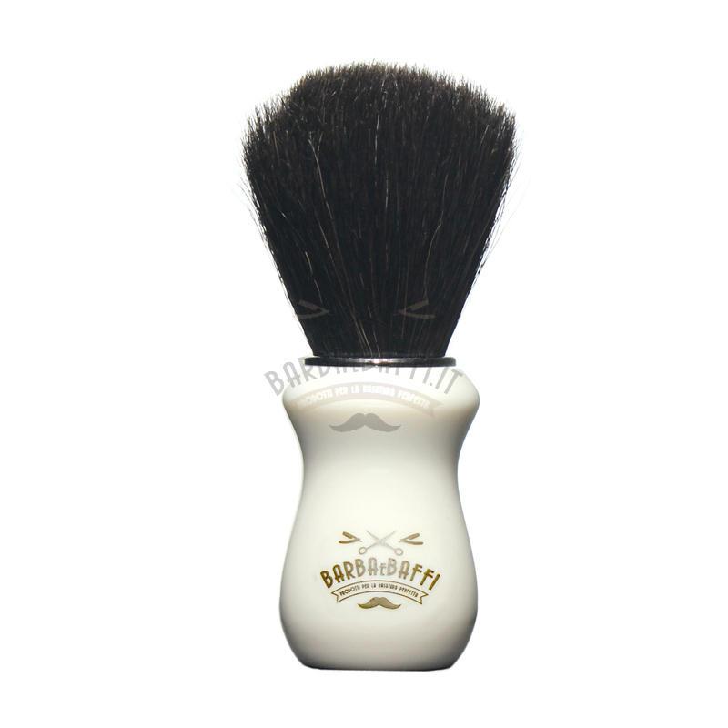 Pennello Barba Ciuffo Cavallo Soft BarbaeBaffi Manico Avorio 33352