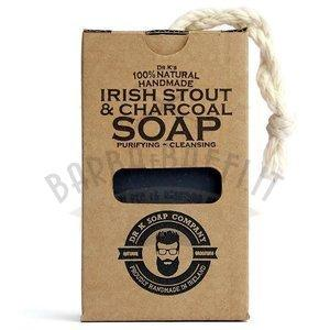 Saponetta in Corda Dr.K Irish Stout e Charcoal 110 gr