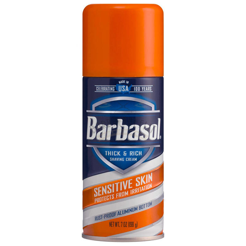 Schiuma da Barba Sensitive Skin Barbasol 198 g