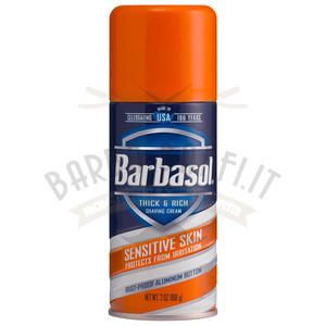 Schiuma da Barba Sensitive Skin Barbasol 198 g