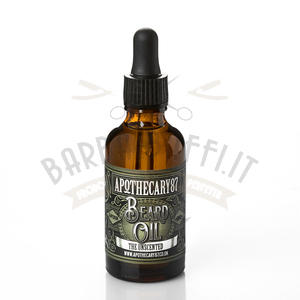 Olio per Barba Unscented Apothecary87 50 ml