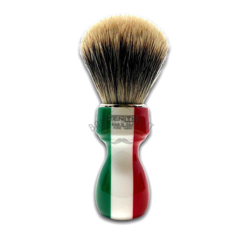 Pennello Barba Manico Resina Italia Ciuffo Manchurian Zenith 507I